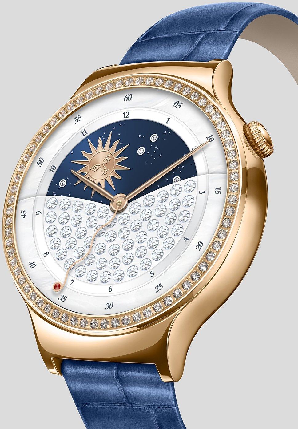 HUAWEI 55021238 Jewel Smartwatch con Piel Pulsera, Acero ...