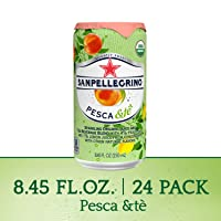 Deals on 24PK Sanpellegrino Pesca &Te Organic Juice & Tea 8.45Oz