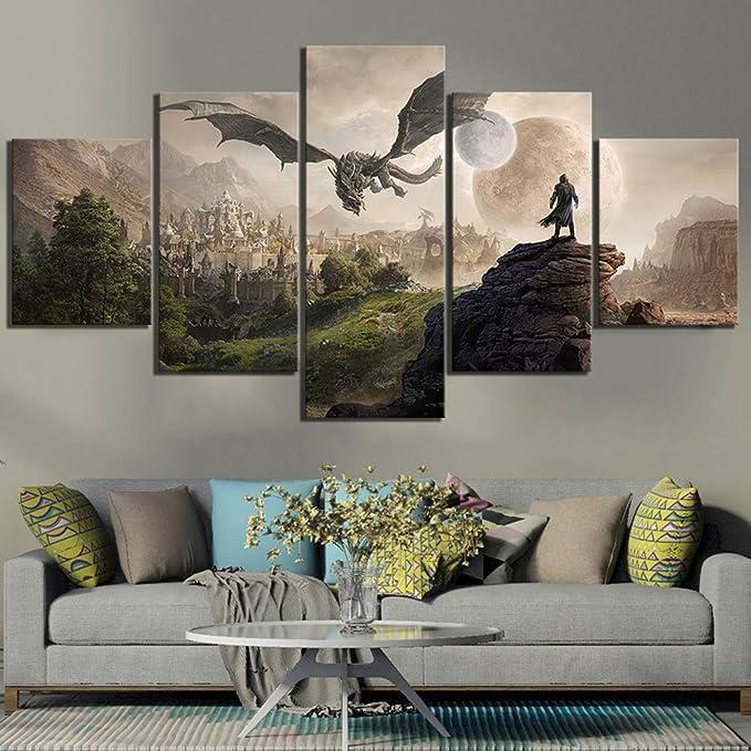 61405 skyrim Decor Wall Print POSTER