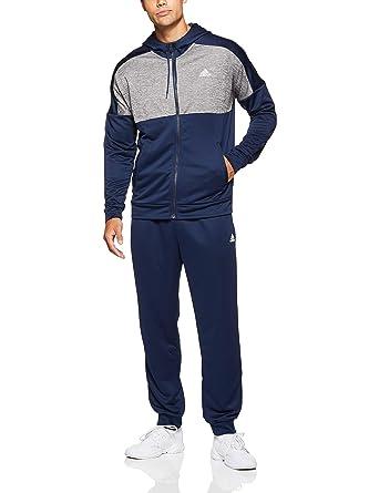3e8985d57 adidas Men's MTS Gametime Track Suit, Grey/Collegiate Navy, ...