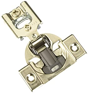 "Blum 38N355BE08x20S Compact Soft-Close 1/2"" Overlay Blumotion Hinge, Nickel Finish (Pack of 20)"