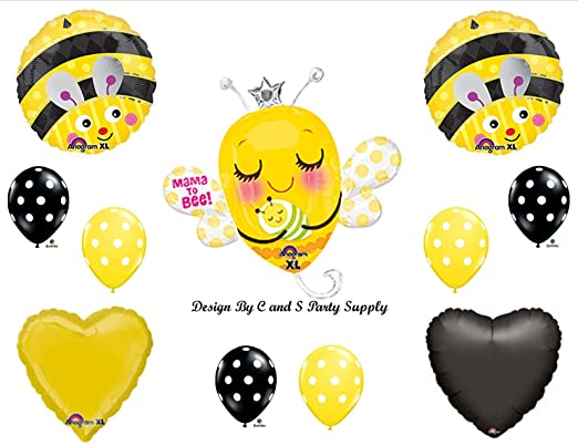 MAMA TO BEE BABY SHOWER Balloons Decorations Supplies Momma Bumblebee By Anagram