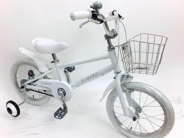 16インチ アルメロ アルミフレーム 子供用自転車 B079WRF778ホワイト