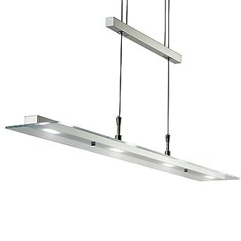 LED Pendelleuchte Dimmbar Stufenlos Hhenverstellbar Leuchte Inkl Platine 230V IP20 Hngelampe Deckenleuchte