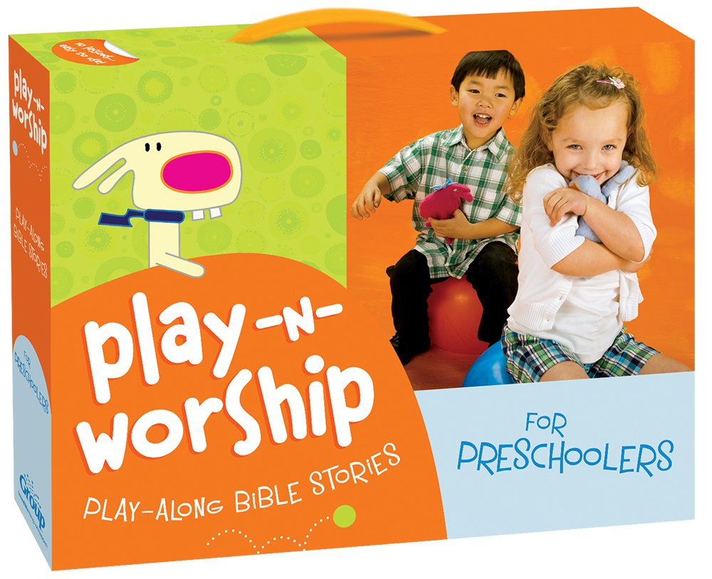 play n worship play along bible stories for preschoolers group