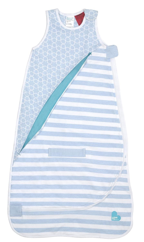 Love to Dream Inventa Sleep Bag-1.0 Tog, Light Blue, 4-12 Months 16-50500