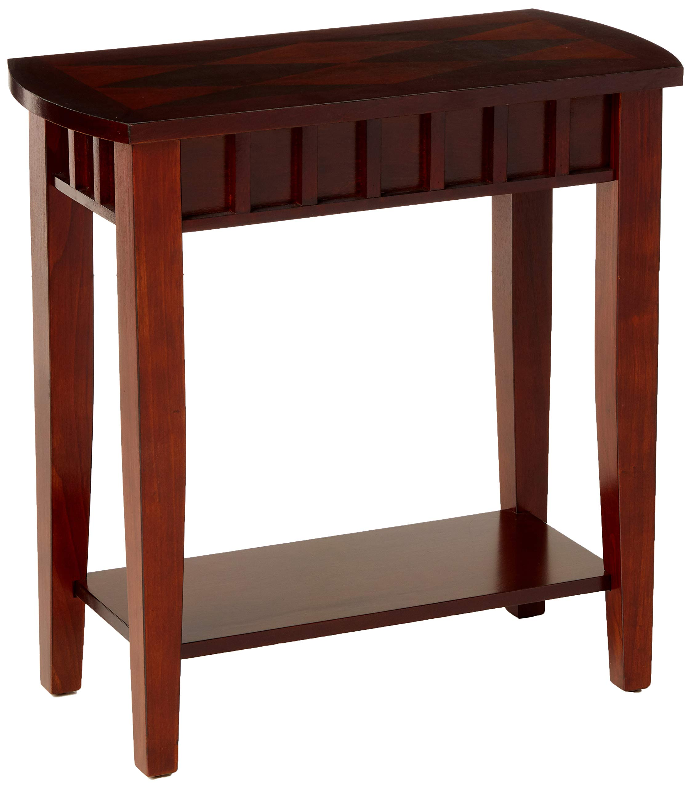 Crown Mark Dentil Chair Side Table by Crown Mark