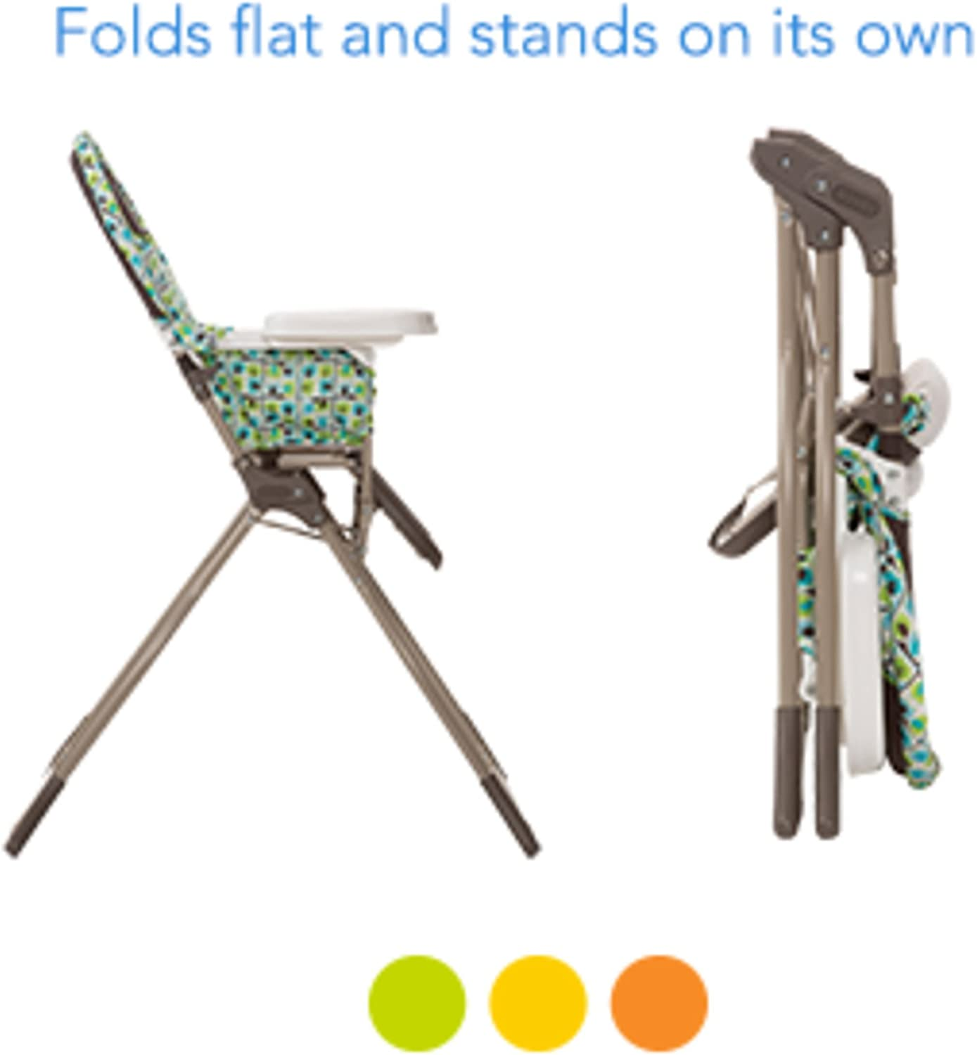 Cosco Simple Fold High Chair Elephant Puzzle
