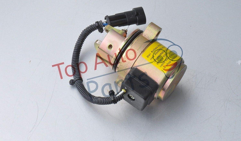 BOBCAT Fuel Shut Off Solenoid 863 864 873 883 w Diesel Deutz Skid Steer 04272956