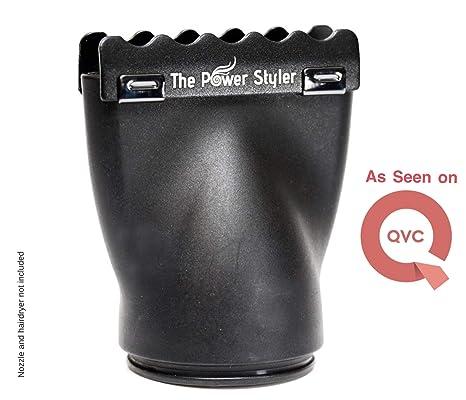 Accesorio de cerámica boquilla secador de pelo para el secador del soplo, crear liso brillante Ahorre tiempo obtener los resultados de la ...