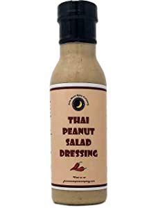 Premium   THAI PEANUT Salad Dressing   Low Saturated Fat   Low Cholesterol   Crafted in Small Batches with Farm Fresh Herbs for Premium Flavor and Zest