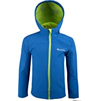 df08748b9 Mountain Warehouse Exodus Kids Softshell Jacket - Breathable Childrens  Jacket, Showerproof Girls Coat, Fleece