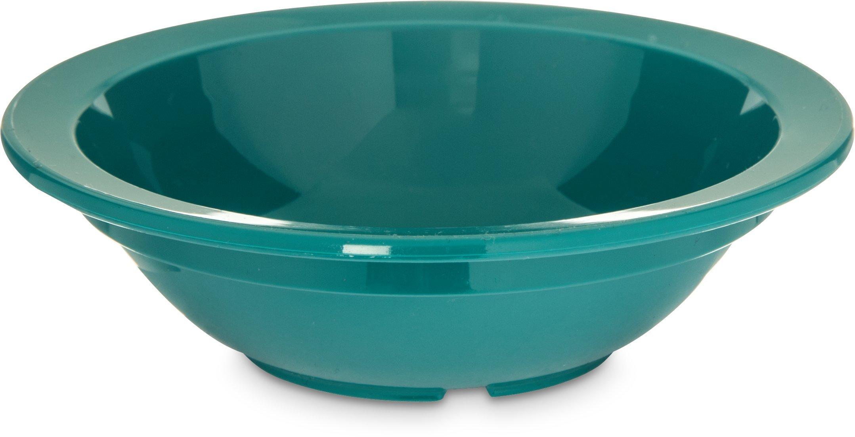 Carlisle PCD30515 Long-Life Polycarbonate Rimmed Fruit Bowl, 5 Oz., Teal (Pack of 48)