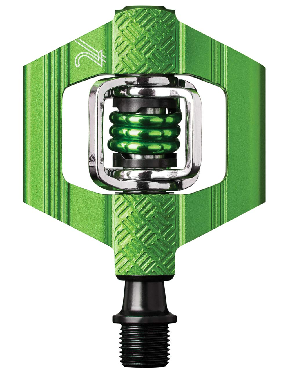 Crank Brothers Candy 2 Pedal Pair, Green 16174