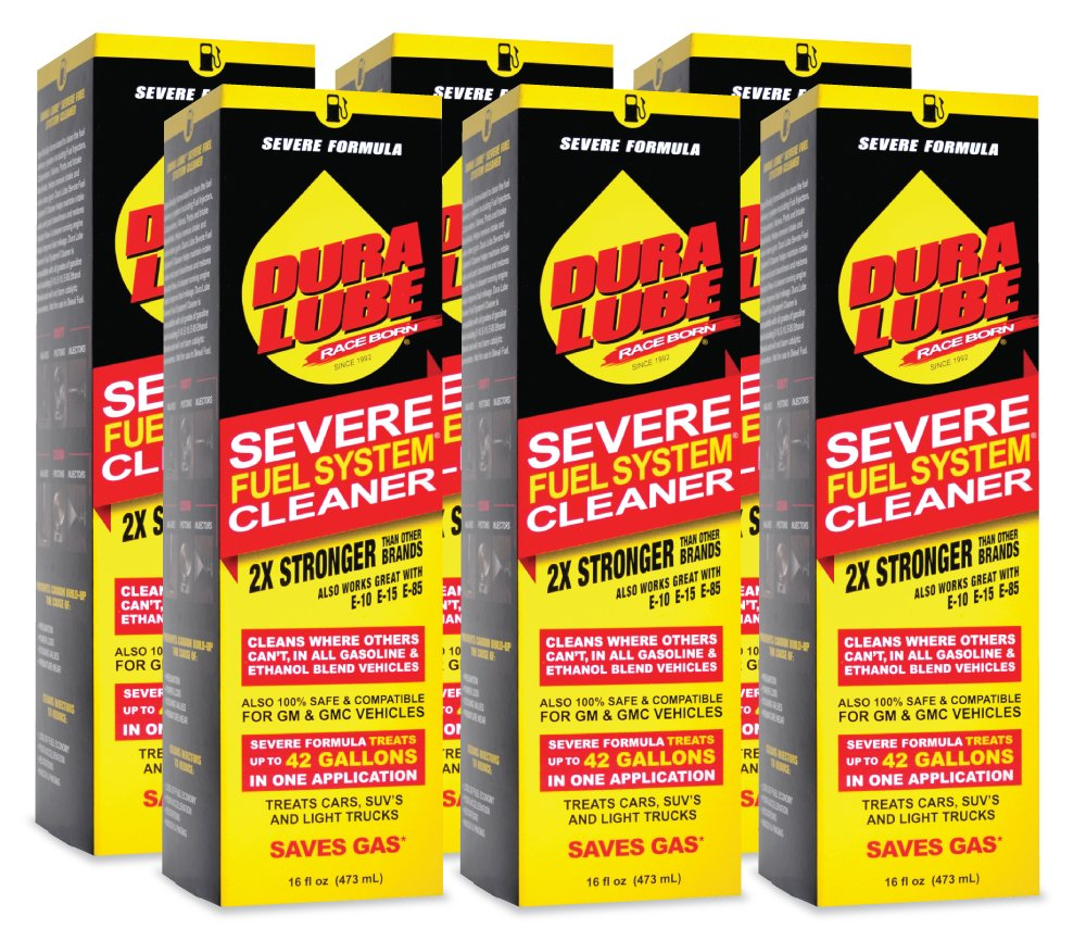 Dura Lube HL-40199-06-6PK Severe Fuel System Cleaner - 16 oz. Bottle, (Pack of 6) by Dura Lube