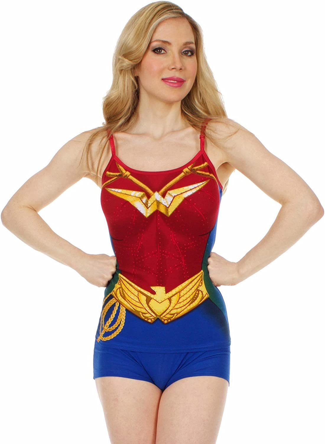 Super Girl Cami and Boy Short Set for Juniors