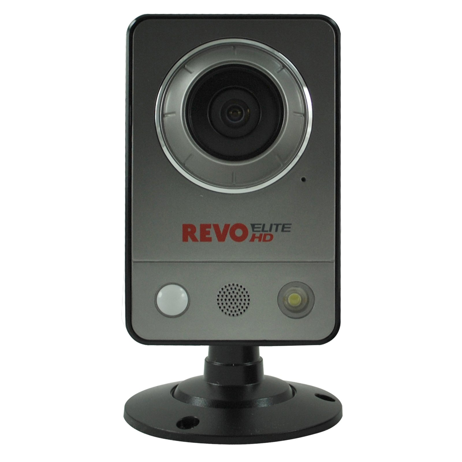 REVO America REHCUW-1 Elite HD Wireless/Wired Indoor IP Cube Camera (Grey)