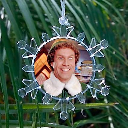 Amazon Com Will Ferrell Buddy The Elf Movie Snowflake