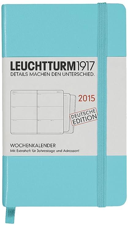 Leuchtturm1917 - Agenda 2015 (incluye cuaderno para ...