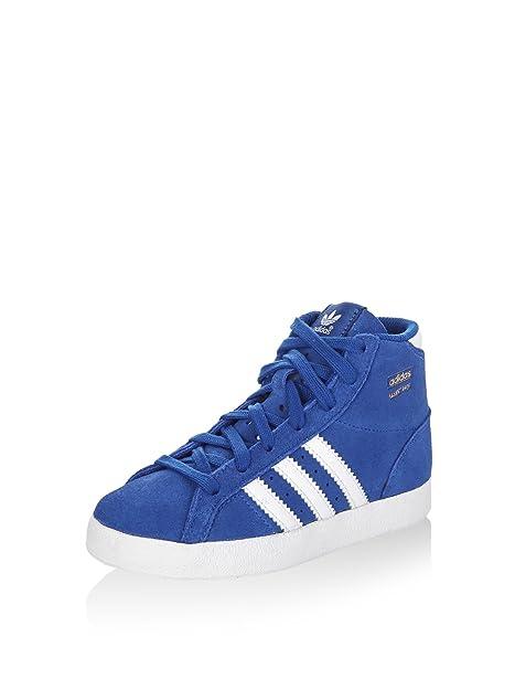 Adidas Panier Profi I Lacé Chaussures Bleu / Blanc Eu 25 klezc0Ws