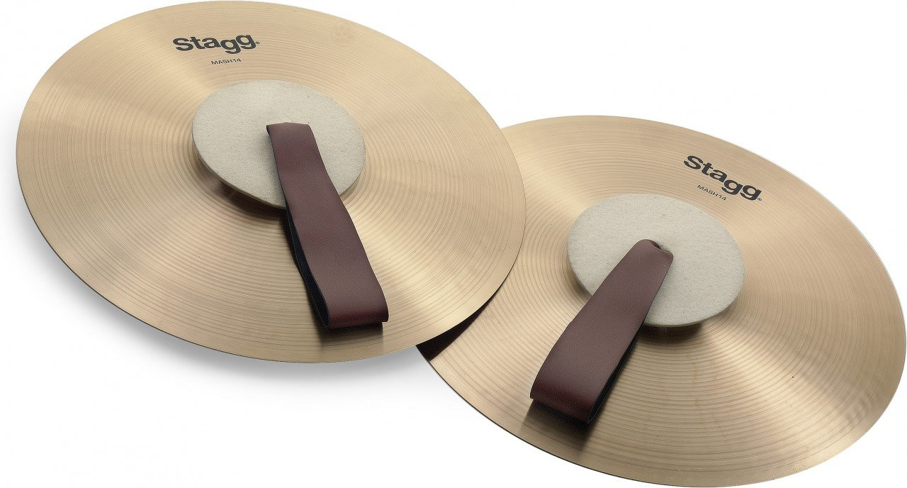 Stagg MASH14 Marching Cymbals by Stagg