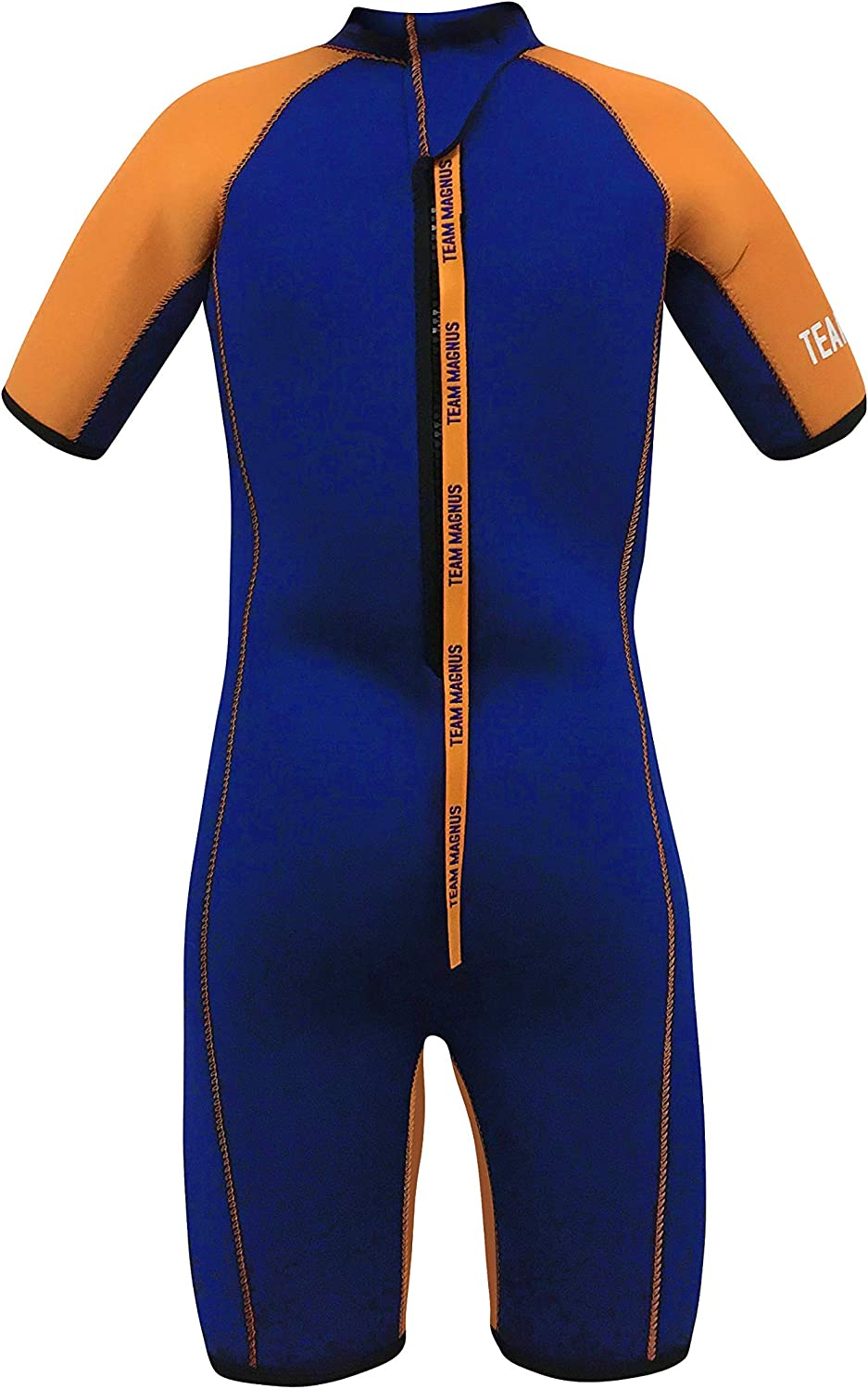 Extremely Insulating and Elastic for Kids Age 3-14 TEAM MAGNUS Kids Wetsuit Unique 5mm Neoprene Shorty