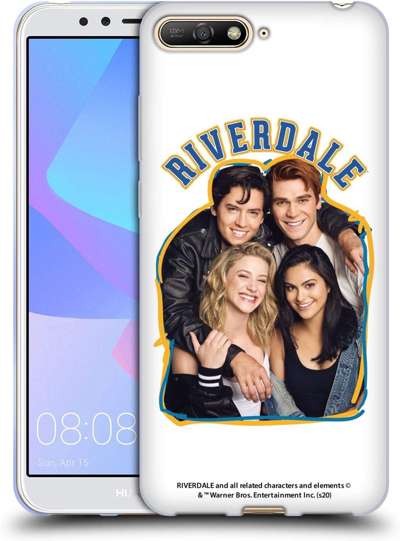 Head Case Designs sous Licence Officielle Riverdale Riverdale Cast 2 Art Coque en Gel Doux Compatible avec Huawei Y6 (2018)