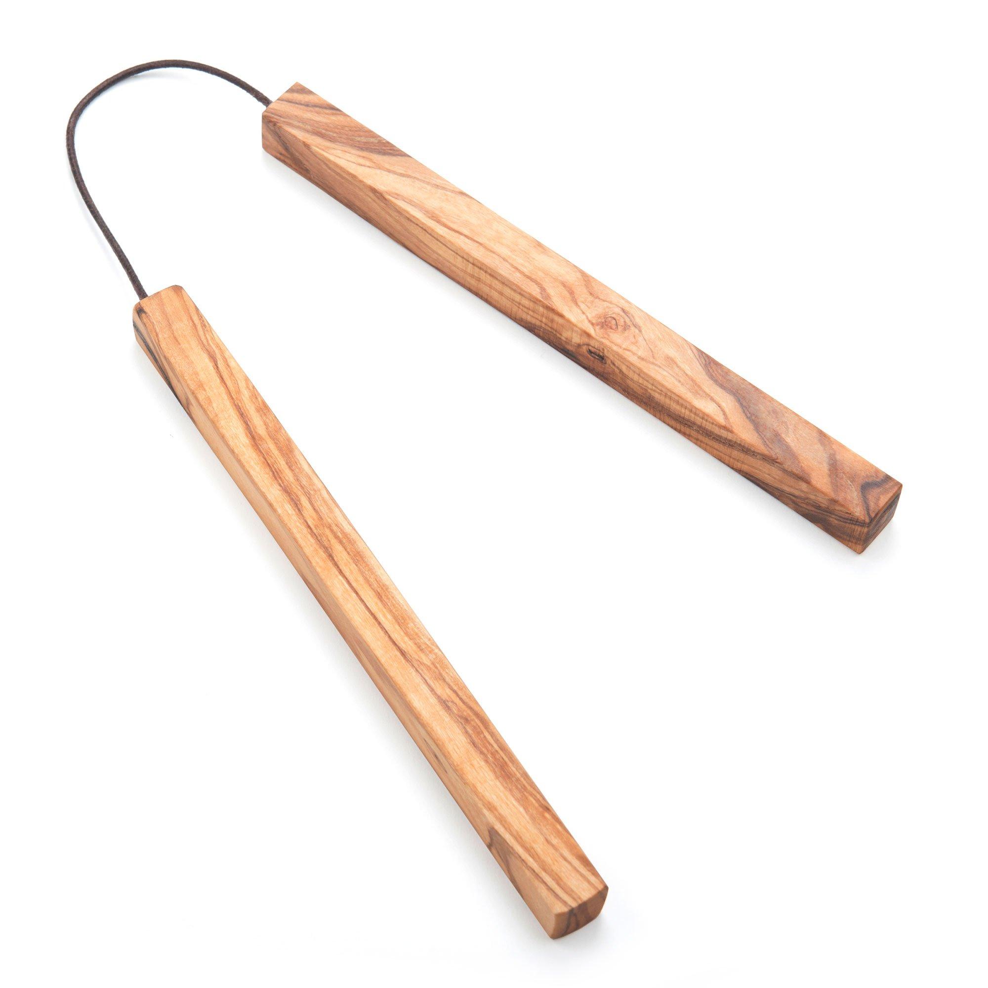 NATUREHOME Trivet - Olive Wood - Coaster - 7.5''