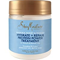 Shea Moisture Manuka Honey & Yogurt Hydrate Repair Protein-Strong Treatment, 8 oz