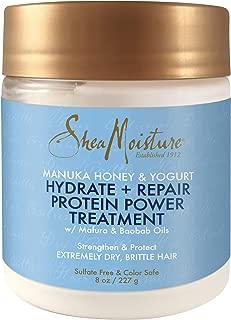product image for Shea Moisture Manuka Honey & Yogurt Hydrate + Repair Protein-Strong Treatment, 8 oz