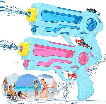 Zaloife Pistola de Agua Juguete de los Niños Water Pistol 350ml ...