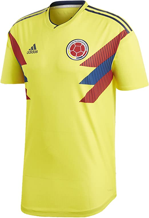 World Cup Columbia Mens Soccer Jersey V-Neck T-Shirt