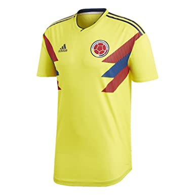 92c2b5e53d3 Amazon.com  adidas Men s Soccer Colombia Home Authentic Jersey World ...
