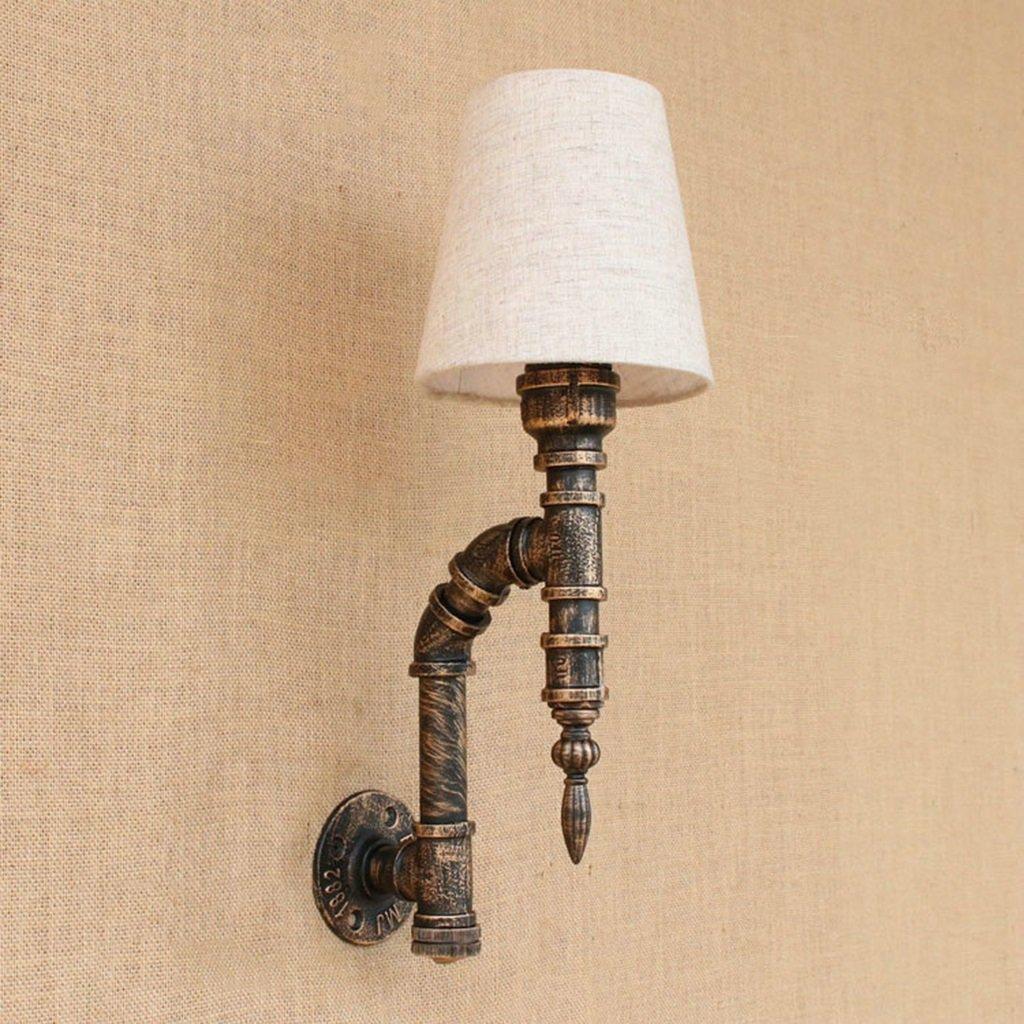 & Wandleuchten Kreative Industrie Wind Schmiedeeisen Retro Wandleuchte Bar Cafe Wohnzimmer Esszimmer Wasser Rohr Wandleuchte Dekorative Lampen