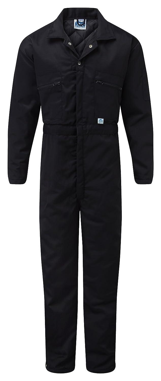Blue Castle 377/NV-L Large Quilted Boilersuit Coverall - Blue Castle Clothing Ltd