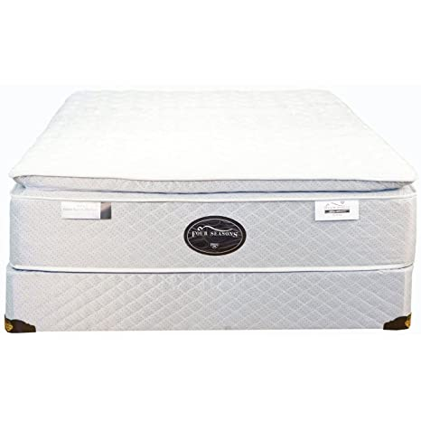 Spring Air Queen Back Supporter Four Seasons Athena Plush Pillowtop Mattress