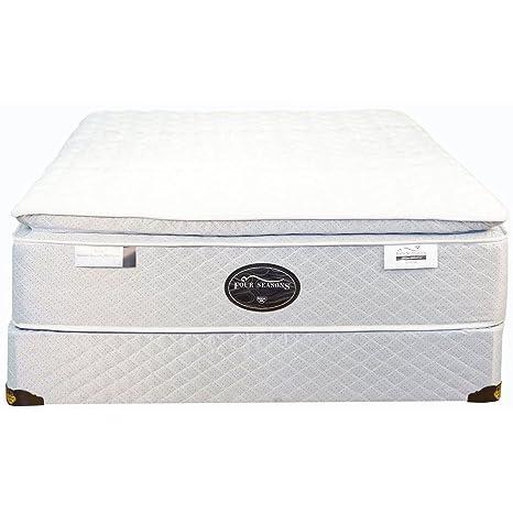 Spring Air Queen Back Supporter Four Seasons Athena Plush Pillowtop Mattress