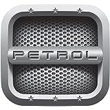 Benjoy® Grey [Petrol] Car Fuel Lid Decal/Sticker Printed (12Cm) for Maruti Suzuki WagonR (1999-2010)