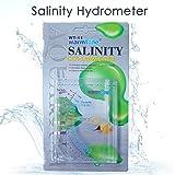 Capetsma Salinity Tester, Accurate Sea Hydrometer Aquarium Marine Salinity Meter for Fish Tank Pond Water Saltwater Freshwater Specific Gravity Test