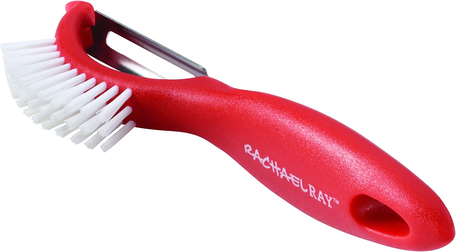 Rachael Ray 59315 Tools & Gadgets Peeler, Small, Red