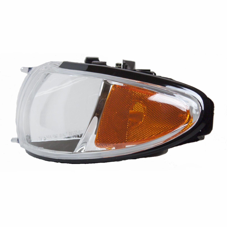 TYC 20-5122-09-9 Pontiac Grand Prix CAPA Certified Replacement Left Head Lamp rm-TYC-20-5122-09-9