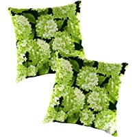 Replacement Pillows for Rope Hammock Swing, Set of 2-22 sq. Forest Hydrangea