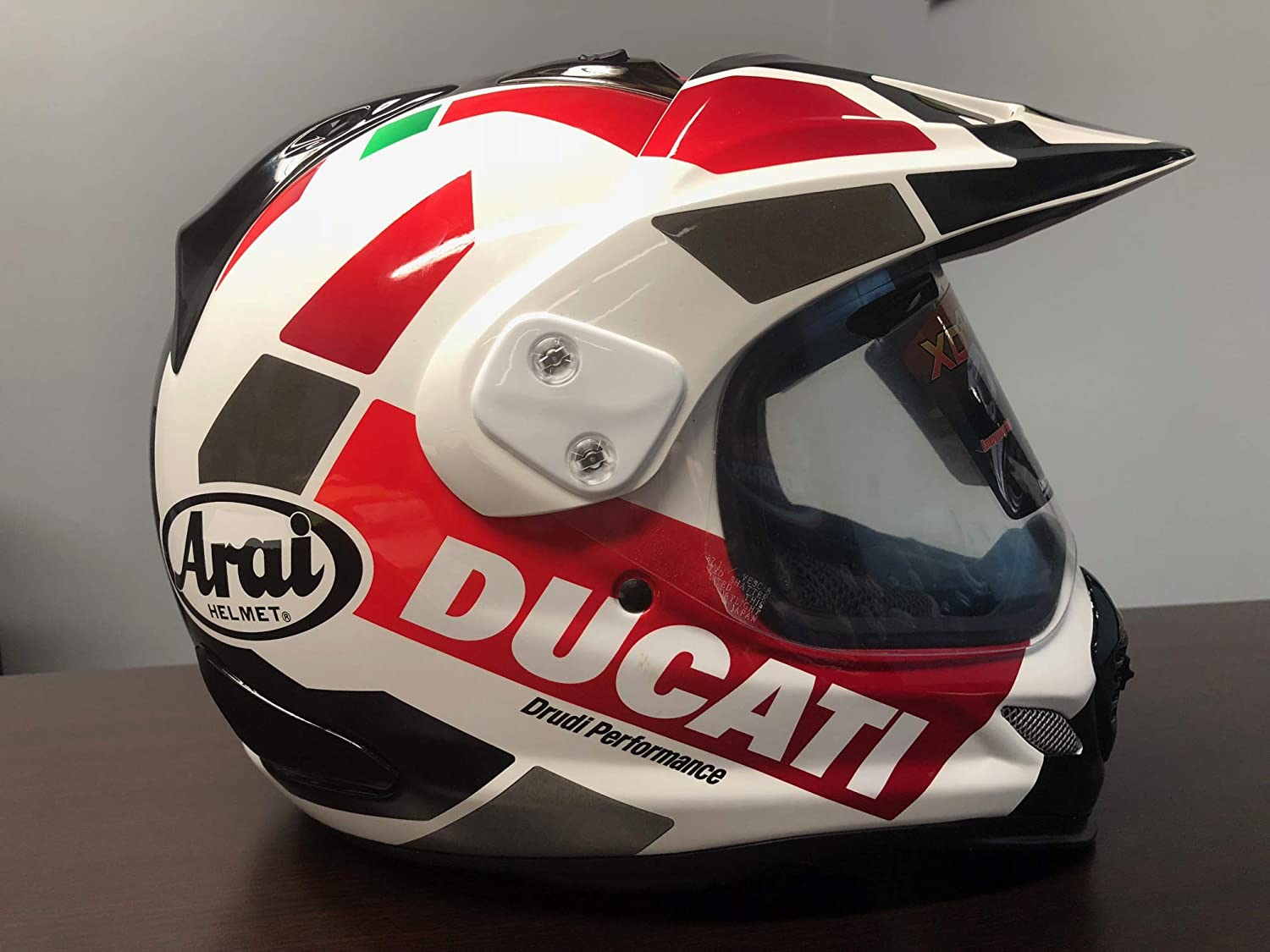 Amazon.com: Ducati Strada Tour V3 Casco integral 98103690, L ...