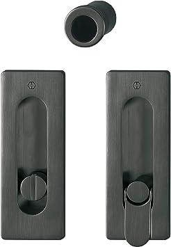 Hoppe 11733408 M464 - Burlete para puerta corredera, color negro: Amazon.es: Bricolaje y herramientas
