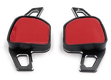 Onlineworld2013 Levas de cambio Shift Paddle Shifter Leon 5F, Leon Cupra, Ibiza 6F Arona Ateca Leon St Alhambra Aluminium: Amazon.es: Coche y moto