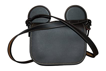 cfc65766 Amazon.com: COACH MICKEY Patricia Saddle in Glove Calf Leather with ...