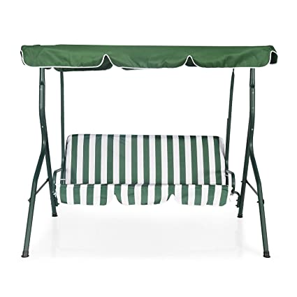 Nilkamal Leisure 3 Seater Swing Green Amazon In Home Kitchen