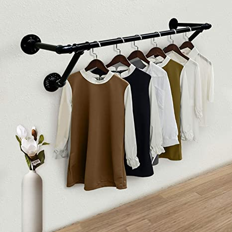 Amazon.com: Wall Mount Industrial Vintage Clothing Store Coat Rack