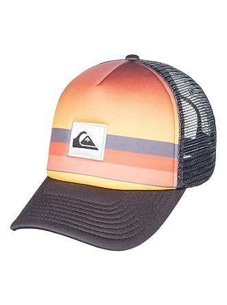 Quiksilver - Gorra Trucker - Hombre - One Size - Negro: Amazon.es: Ropa y accesorios