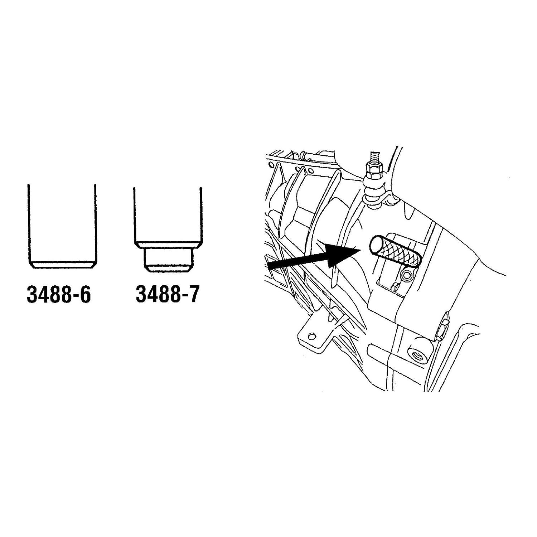 Hazet 3488/8 Herramientas para Encendido de Motor Ford ...